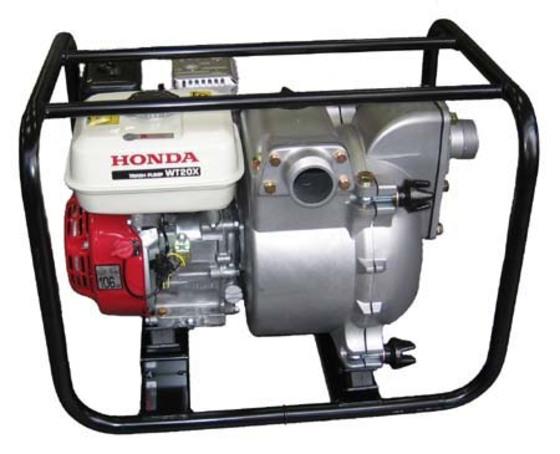 мотопомпа бензиновая honda wt 30 kx3